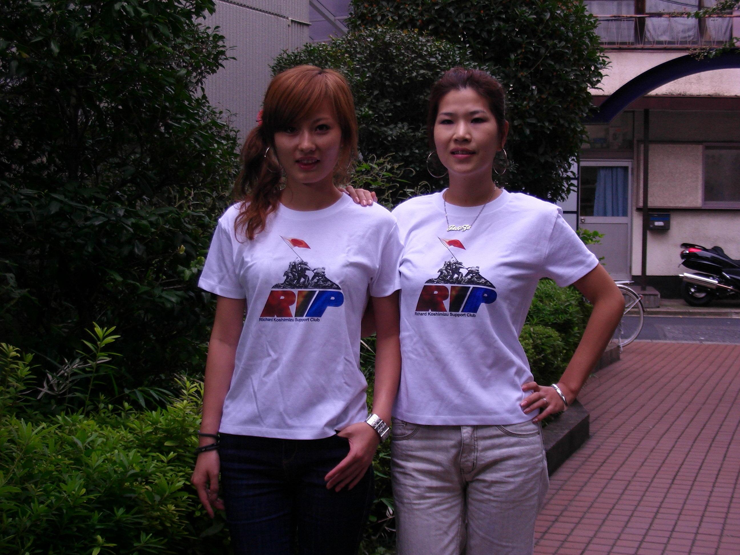 独立党Tシャツ撮影会やりました。