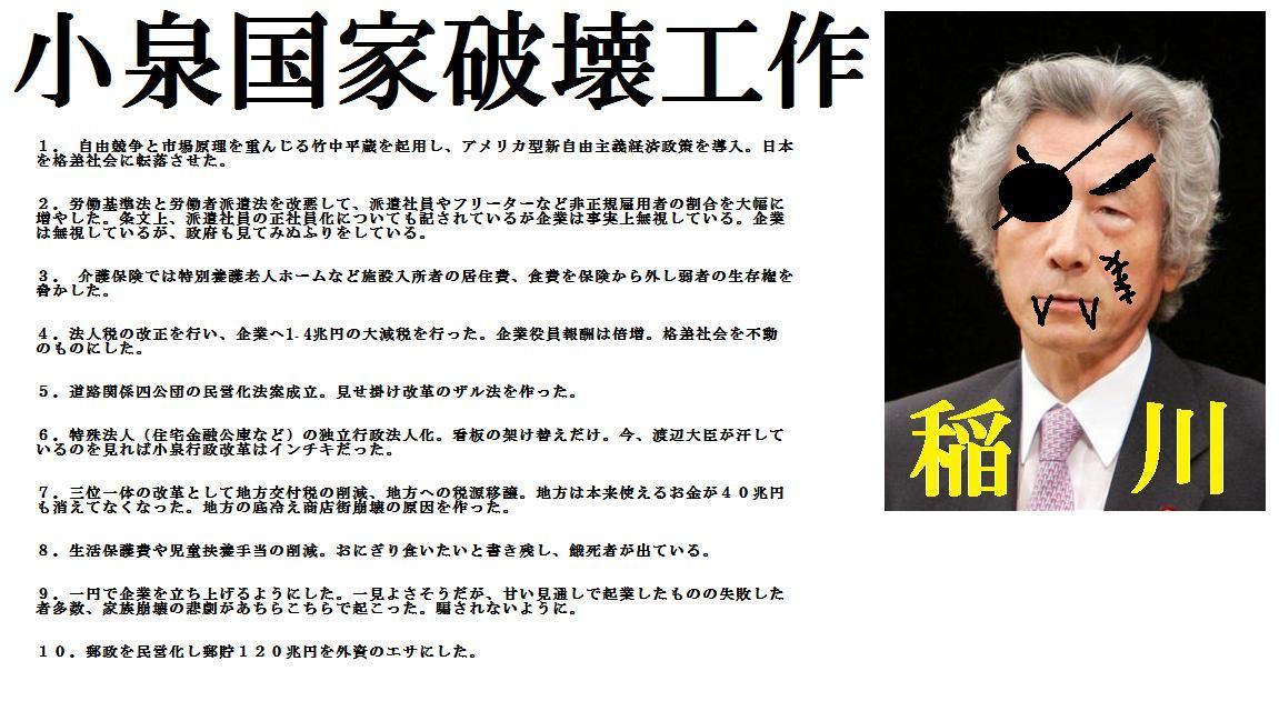 10.3.6リチャード・コシミズ独立党東京学習会動画「旧与党のスキャンダル」を公開します。