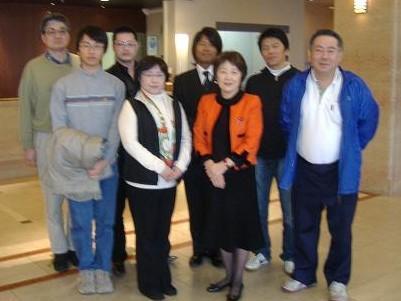 統一教会山谷えり子センセーと似非右翼暴力団朝鮮学校襲撃犯の蜜月写真