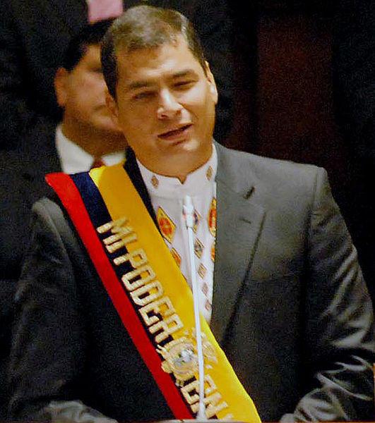 世界の偉人の名言 : エクアドル コレア大統領閣下