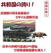 北朝鮮のミサイル移動装置は、日本製だった!