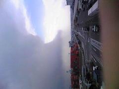 おかしな雲が突如出現し、雨が降ったら、横須賀の放射線量が上昇。