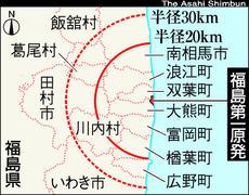 人工地震用核兵器使用地点?:「浪江町」は「同心円状に汚染」