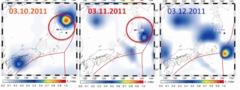 「地震直前に温度上昇していた311震源海域上空の空気」