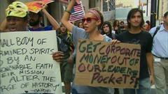 全米・反ウォール街デモ:デビ爺さん、「私刑」を恐れてインドかな?
