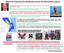 What Lies Behind the Radiation Panic in Fukushima