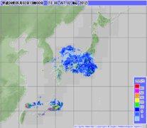 神奈川、東京、埼玉で今日午後、記録的な大雨がふるそうです。なんか、へんだなぁ。