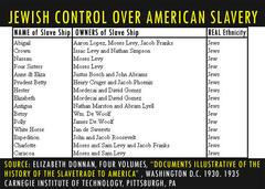 黒人奴隷貿易とユダヤ人