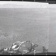 火星の平野の写真?