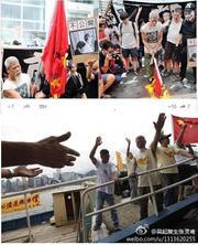 B層の皆さん、頭を抱えてください。香港の反共闘士、古思堯センセ、尖閣に上陸の巻です。