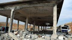 イスラエル軍はシリア爆撃に米国製の核弾頭付きバンカーバスター弾を使ったとの判断です。