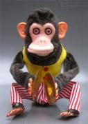 お猿のシンバル人形