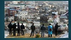「NHKの、ニュースで英会話でも、福島近隣の、1000人以上の、市役所職員が、死亡、あるいは、体調