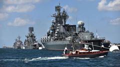 ユダヤ金融悪魔のシリア侵略を阻止するためロシア艦隊がシリア沖に。これでも、やるのかい?