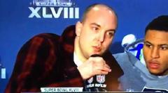 ユダヤ金融悪魔の皆さん、大変です!911内部犯行を告発する若者がテレビハイジャック!
