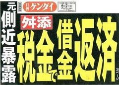 細川・小泉は、「反原発票を割って宇都宮氏落選を正当化する」「反原発は民意ではなかった」と思わせる役割