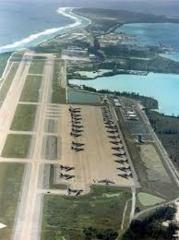 えーこちらがディエゴ・ガルシア島でございまして、米国という国の空軍基地があるみたいです。