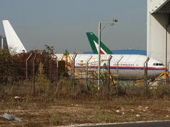 テルアビブ空港でフライト370クローンの実際の写真
