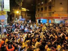 台湾で国会を学生が占拠?