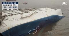 韓国船沈没事件:今度は船底に傷が見つかったという新情報です。