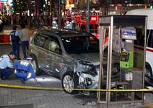 <池袋事故>駅近くの歩道に車突っ込む 1人死亡6人けが