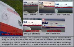 改訂版:ウクライナで撃墜された機体は実はインド洋に消えたMH370便だった?