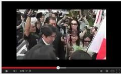 ヘイトスピーチ朝鮮似非右翼のバカ集会に安倍晋三登場ですね。