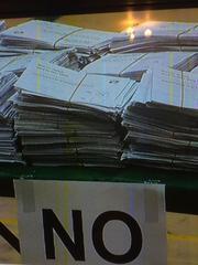 スコットランド独立投票、不正の瞬間