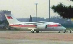 北朝鮮、金正恩第1書記専用機 北京に出現?