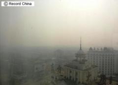 北京など中国北部、深刻な「PM2.5」大気汚染再び—中国紙
