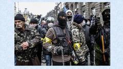 ウクライナでも日本でも「ネオナチ・偽装極右」は、ユダヤCIAの直営です。