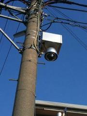 「監視カメラは たがやさんのポスター はがしを絶対に 見ています。」