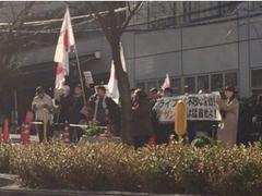 朝鮮労働党直営の似非右翼によるアミューズ襲撃ですが、