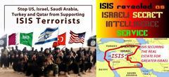 ISIS=大イスラエル計画だったんですね。