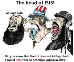 ISISは隠れユダヤ軍ですっ。