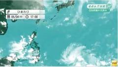 5月では4年ぶり 台風6号、来週に沖縄・奄美地方に接近か
