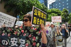 ◆「自公の安定、日本の破滅」 反公明・創価デモ