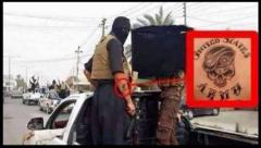 ISIS軍に米軍兵士が参加しているわけです。刺青でばれちゃった。