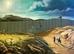 ベツレヘムとエルサレムの間は、現在は、↓このようになっております。